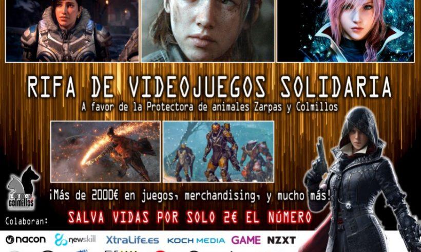 Super rifa de videojuegos en favor de Zarpas y Colmillos (4ª Edición)