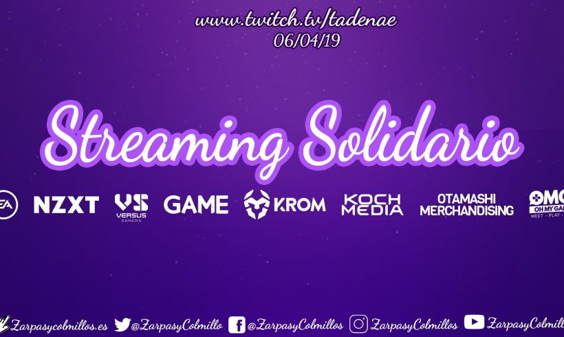 Streaming solidario este sábado a favor de Zarpas