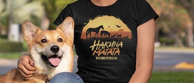 Camisetas solidarias por el Día Mundial de los Animales