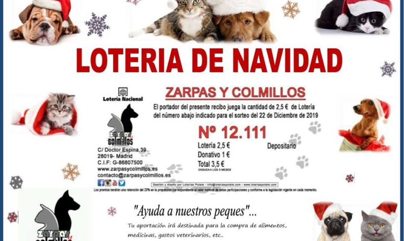 Agotada la lotería de Zarpas ¡Suerte a todos!