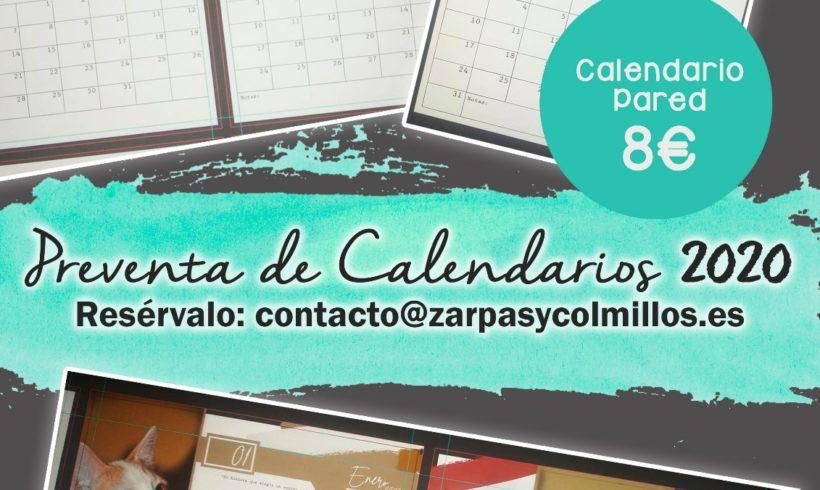 ¡Compra ya tu calendario solidario de Zarpas!