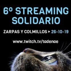 """¡No te pierdas este sábado 26 el """"streaming"""" solidario de Zarpas!"""