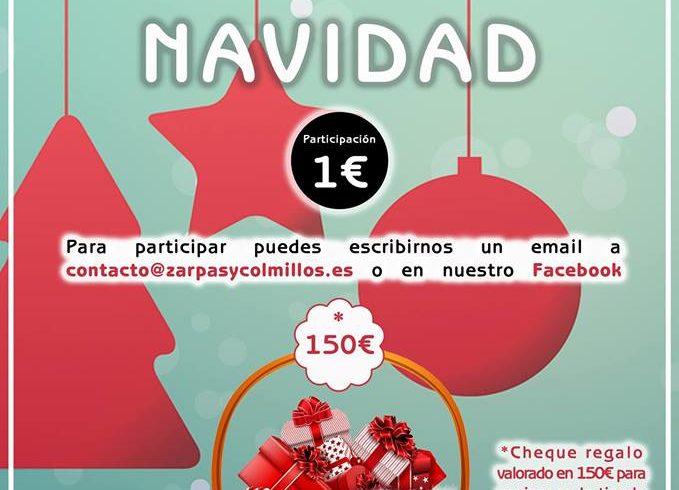 Participa en el sorteo la cesta de Navidad de Zarpas: ¡Solo 1 euro!