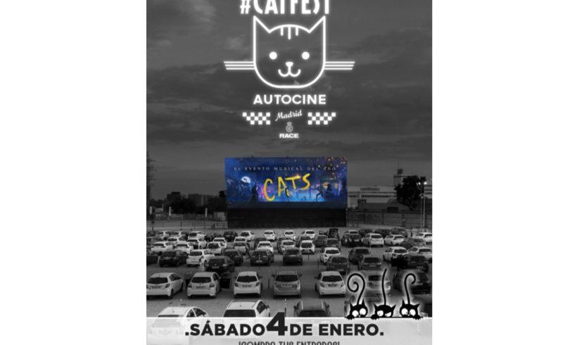 Ven al «Catfest» del Autocine Madrid y ayuda a Zarpas