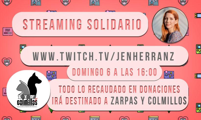 No te pierdas este domingo 6 de septiembre «streaming» solidario a favor de Zarpas