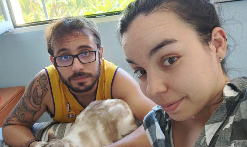 Experiencias de acogida. Borja y Noelia: «Algunos animales viven en una situación horrible, tú les puedes ayudar»
