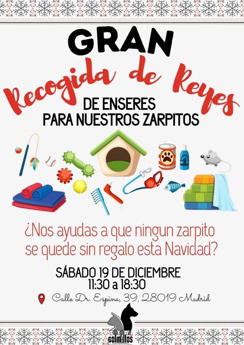 Te esperamos el 19 de diciembre en Zarpas para la gran recogida de donaciones