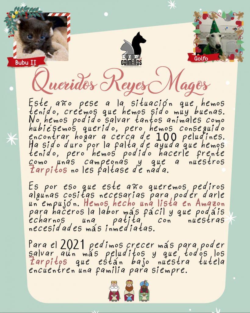 Los Reyes compran en la lista de Amazon de Zarpas ;)