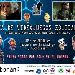 ¡¡Ya está aquí la 5º Rifa de videojuegos de Zarpas!!